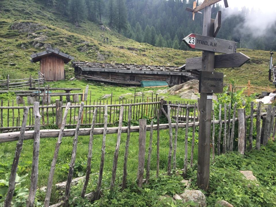Seegrubenalm Ultental, Südtirol