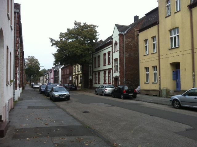 Strassenzug in Dortmund-Marten