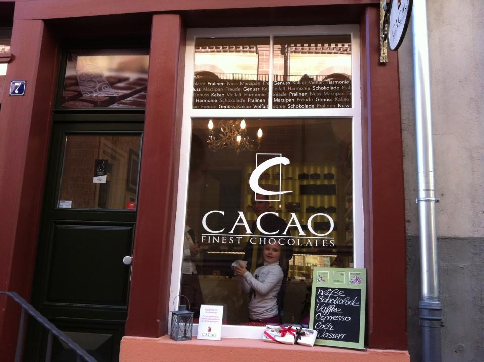 Schokolade in Weinheim - selbst gemacht!