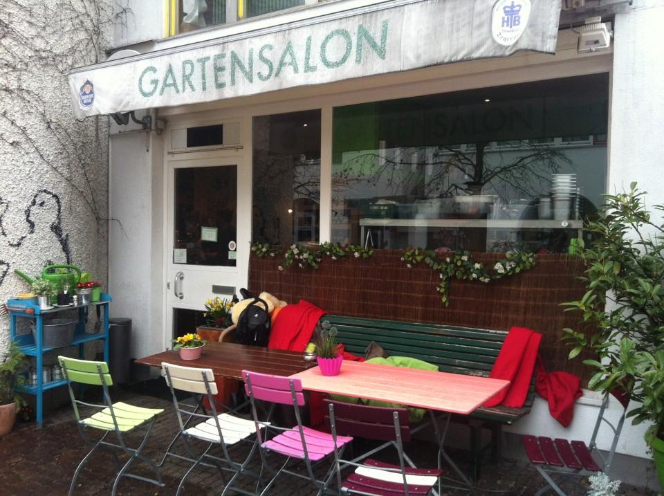 Sonntagskaffee: Gartensalon in München Schwabing