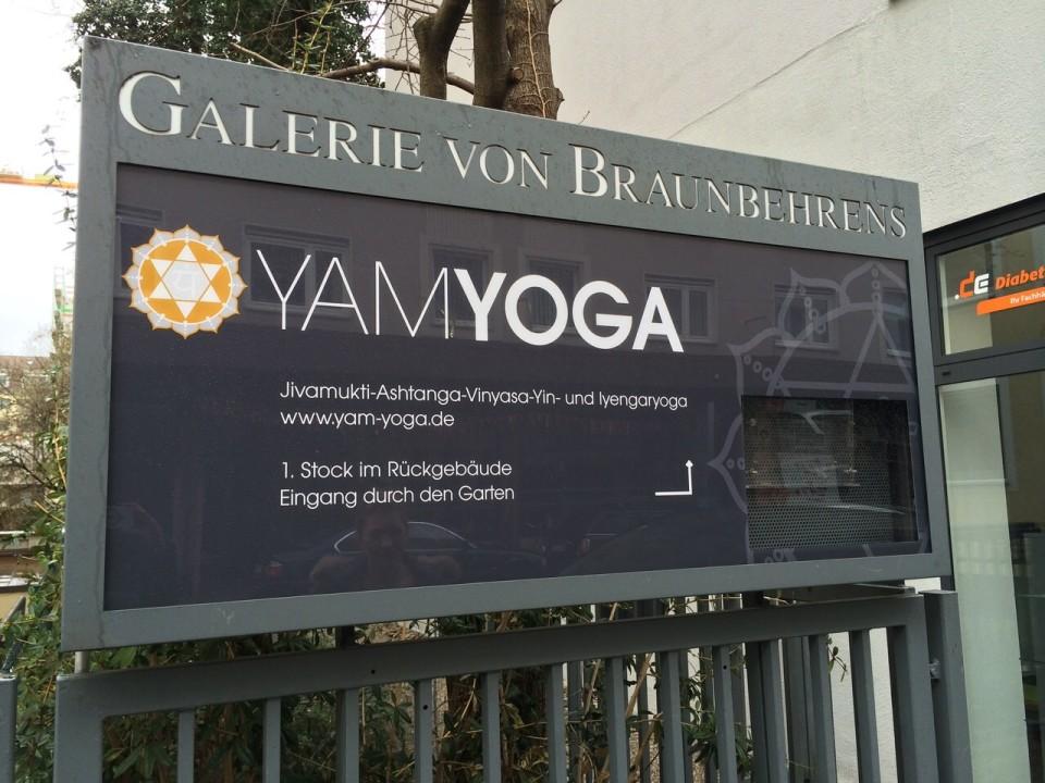 Zu Besuch bei YamYoga in München Schwabing