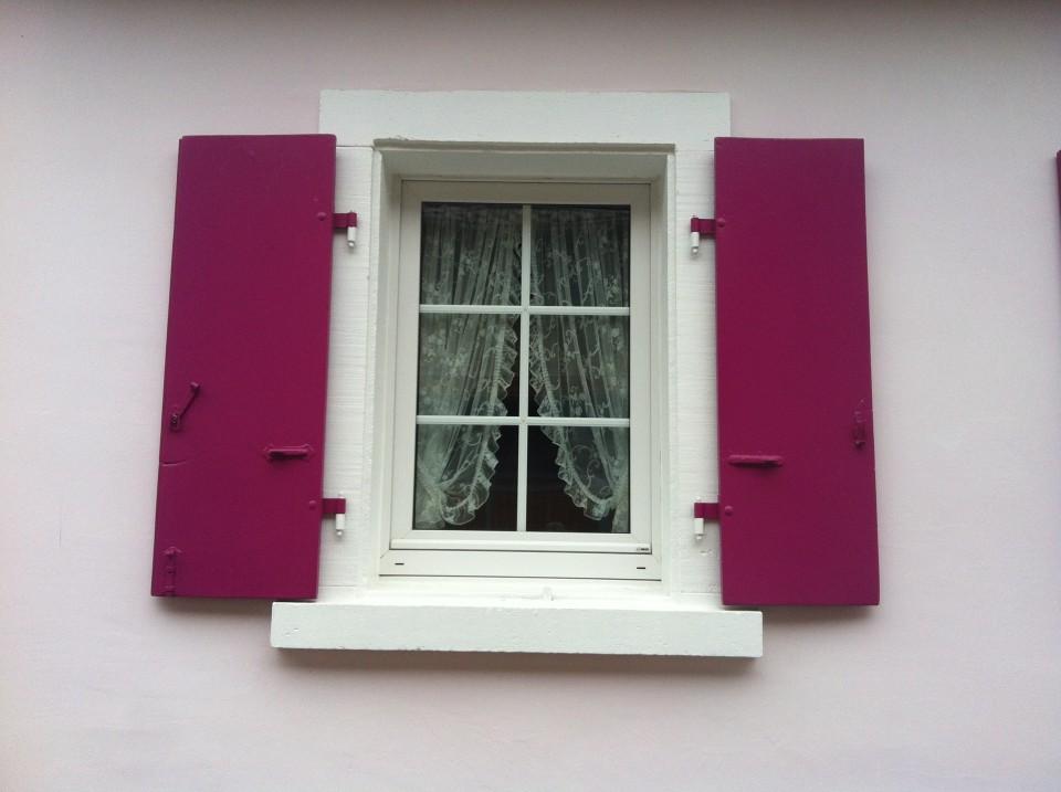 Fenster im Ferienhaus Königsbach