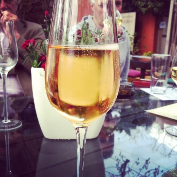 Rosé Sekt bei Menger-Krug Deidesheim