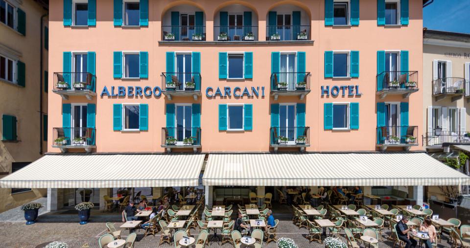 Albergo & Ristorante: Carcani, Frontrow