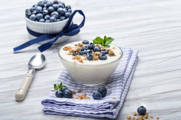 Soja-Kokos-Joghurt mit Blaubeeren - Lieblingsflecken-Foodie