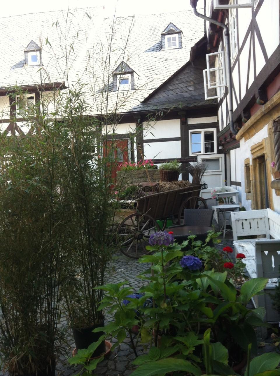 Innenhof Hotel Alte Münze Goslar