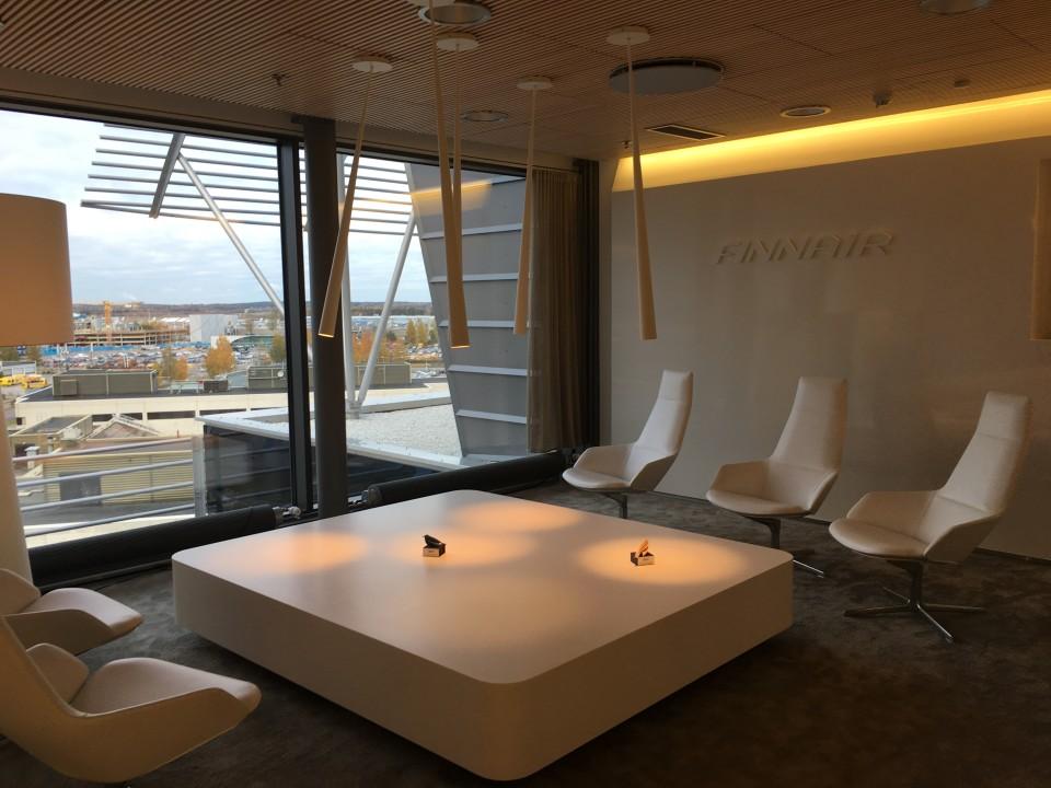 Lounge bei Finnair, Finnland, Helsinki Lounge bei Finnair, Finnland, Helsinki