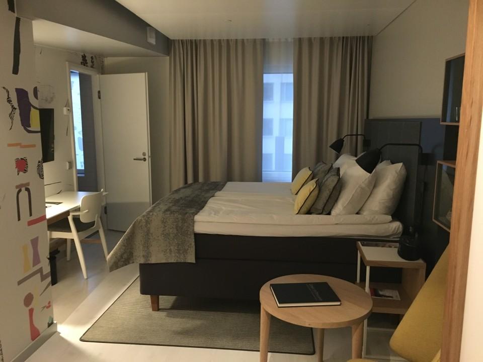 Indigo Hotel Helsinki, Finnland, die Finnen