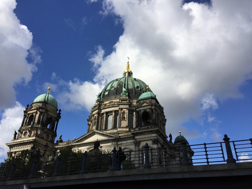 Berlin Ausflug auf der Spree
