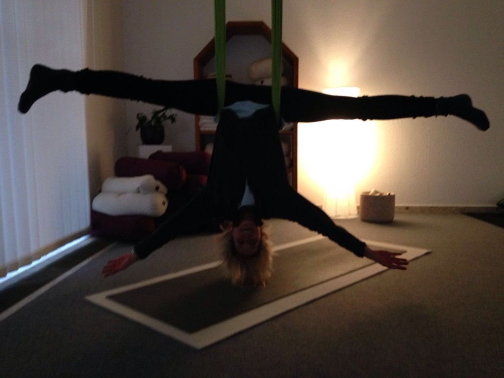 Areal Yoga nach Reiki - Lieblingsflecken