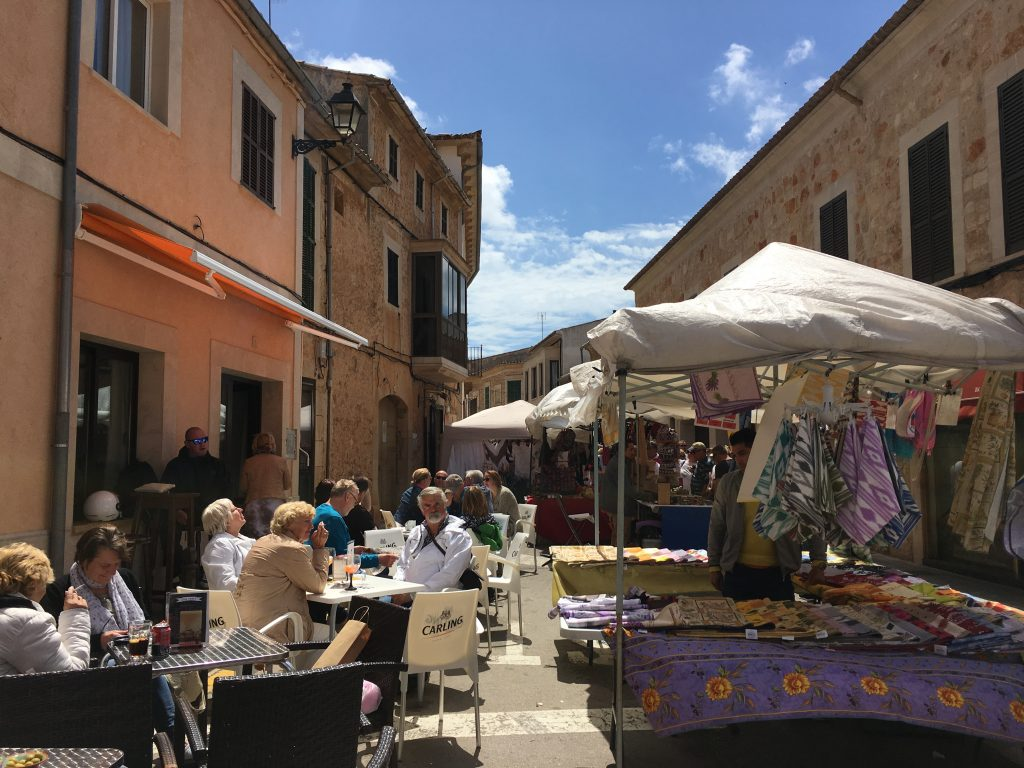 Markt in Santanyi Mallorca- Lieblingsflecken