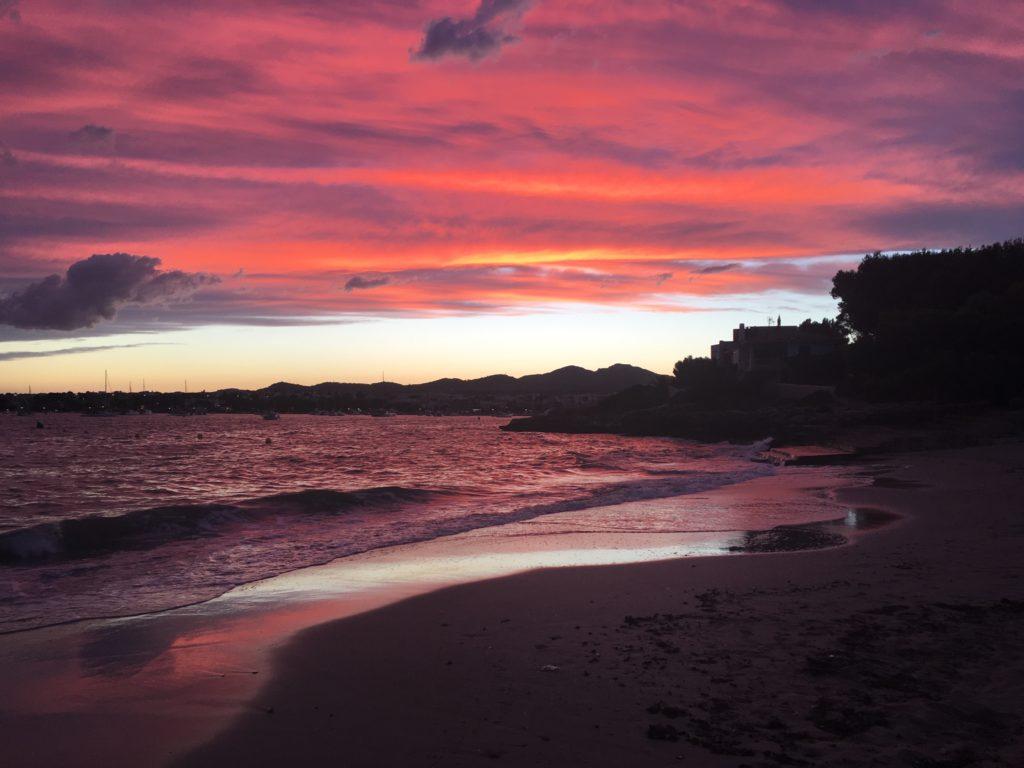 sonnenuntergang-portocolom Mallorca - Lieblingsflecken